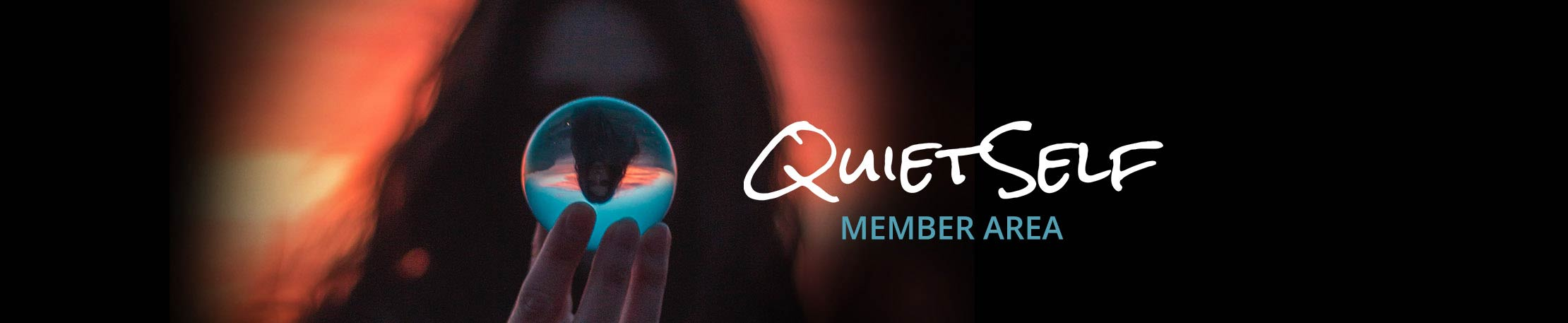 Member's Area Header Image for QuietSelf